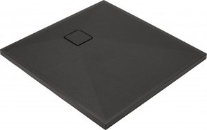 Deante Correo Brodzik kwadratowy granitowy 90x90 cm antracyt cm KQR_T41B