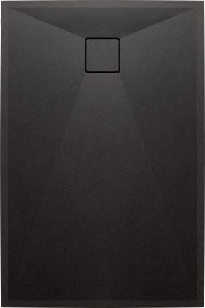 Deante Correo Brodzik prostokątny granitowy 120x80 cm antracyt KQR_T44B