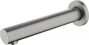 Deante Cascada Titanium Wylewka wannowa podtynkowa 182 mm titanium NAC_D81K