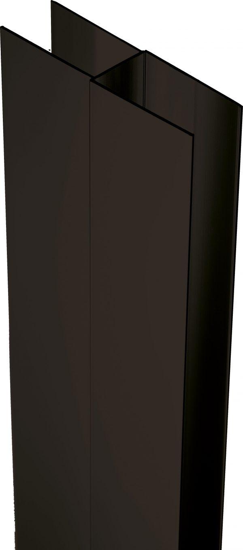 Zdjęcie Deante Profil poszerzający z elementem montażowym 200 cm czarny XKC00PN02