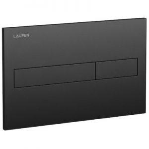 Przycisk spłukujący do WC Laufen LIS czarny mat H8956617160001