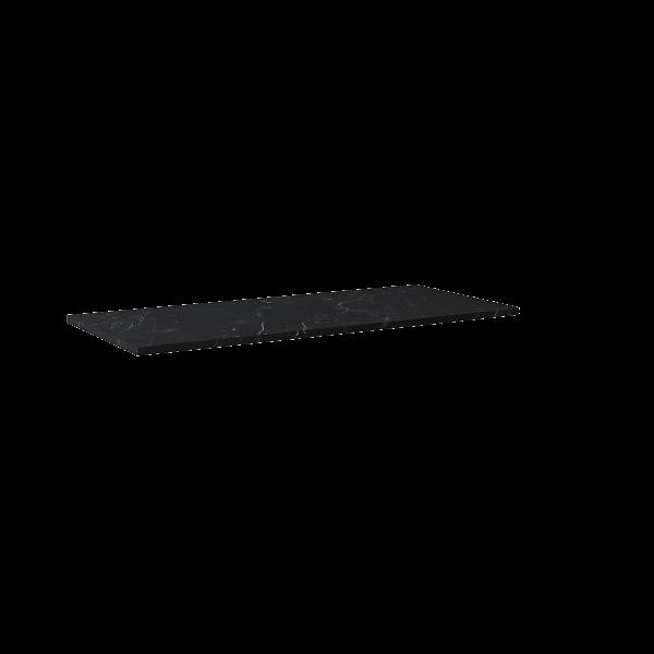 Zdjęcie Blat marmur Elita Marquina 120×49,4×2 cm black mat 167477