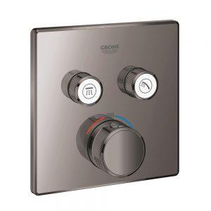 Grohe Grohtherm SmartControl Bateria termostatyczna do obsługi dwóch wyjść wody hard graphite 29124A00