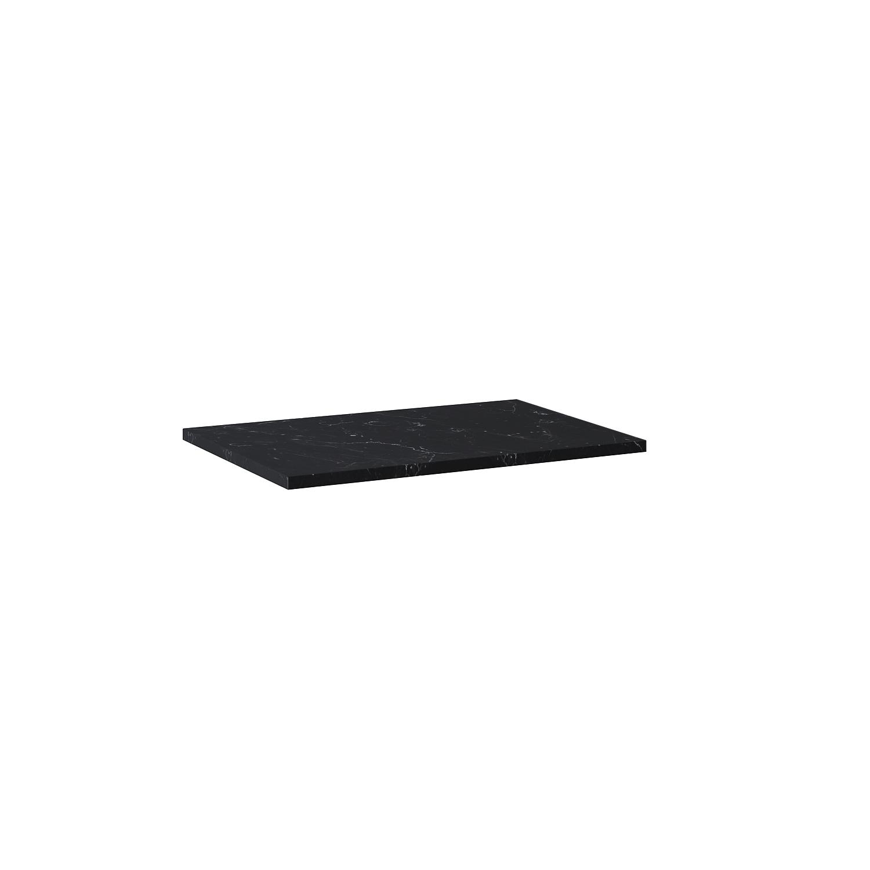 Blat marmur Elita Marquina 60x46x2 cm black mat 167480