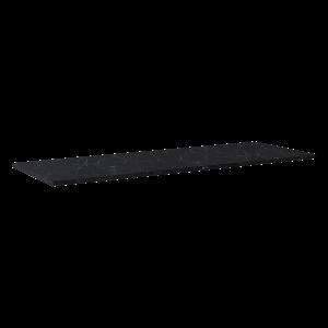 Blat marmur Elita Marquina 140x46x2 cm black mat 167484 @