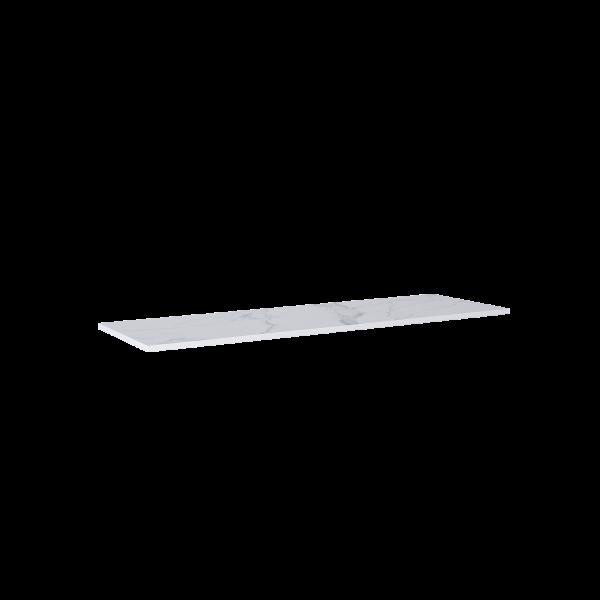 Zdjęcie Blat marmur Elita Calacatta 160x46x2 cm white mat 167405