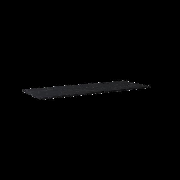 Zdjęcie Blat marmur Elita Marquina 140(90+50)x49,4×2 cm black mat 167478