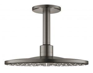 Grohe Rainshower SmartActive 310 Deszczownica z przepustem stropowym 142 mm, 2 strumienie hard graphite 26477AL0