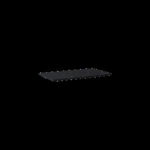 Blat marmur Elita Marquina 80x46x2 cm black mat 167481