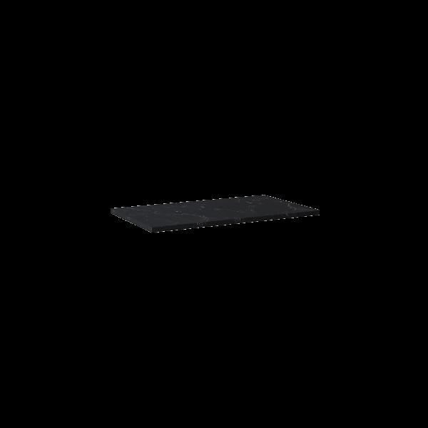 Zdjęcie Blat marmur Elita Marquina 80x46x2 cm black mat 167481