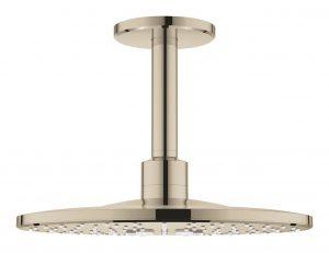 Grohe Rainshower SmartActive 310 Deszczownica z przepustem stropowym 142 mm, 2 strumienie polished nickel 26477BE0