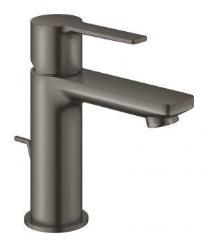 Grohe Lineare Bateria umywalkowa DN 15 Rozmiar XS brushed hard graphite 32109AL1