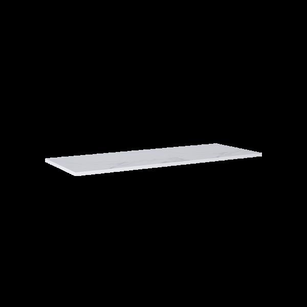 Zdjęcie Blat marmur Elita Calacatta 140(90+50)x49,4×2 cm white mat 167437