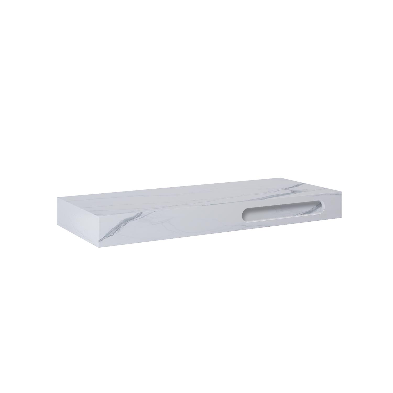 Konsola marmur Elita Calacatta (120x46) GR.120 white mat 167487
