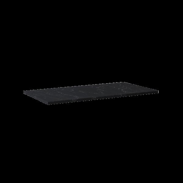 Zdjęcie Blat Marmur Elita Marquina 100×49,4×2 cm black mat 167808