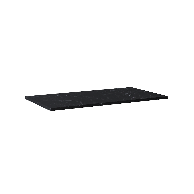 Blat Marmur Elita Marquina 100x49,4x2 cm black mat 167808