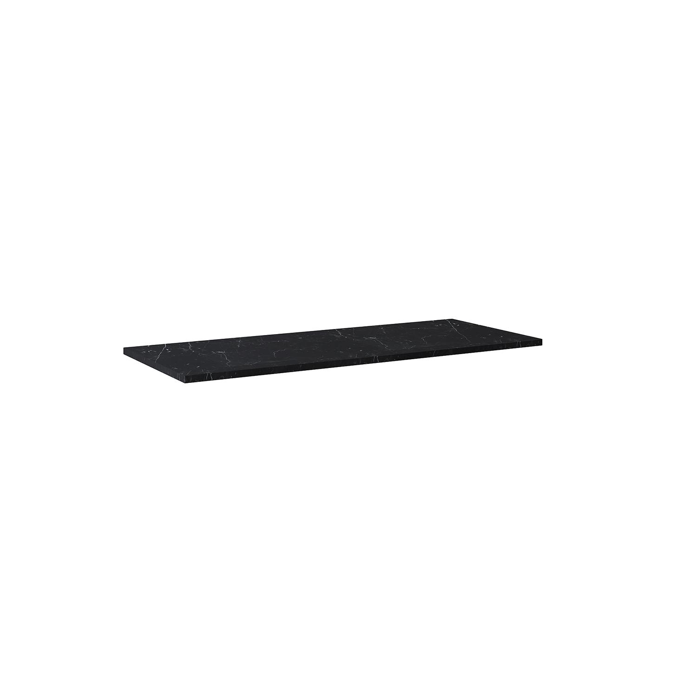 Blat marmur Elita Marquina 120x46x2 cm black mat 167483