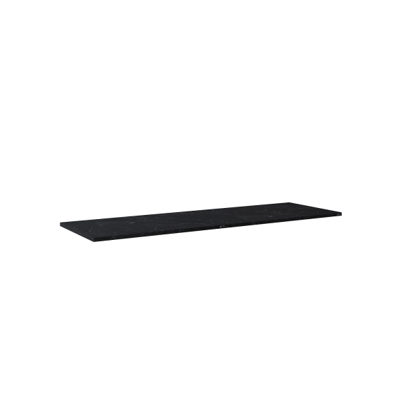 Zdjęcie Blat marmur Elita Marquina 160x46x2 cm black mat 167485