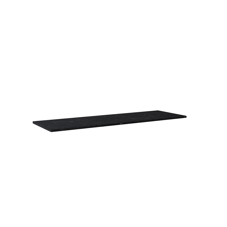 Blat marmur Elita Marquina 160x46x2 cm black mat 167485