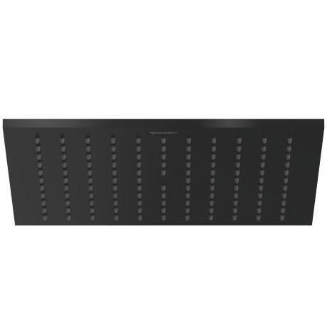 Deszczownica kwadratowa Duravit 24x24cm czarny mat UV0660027046