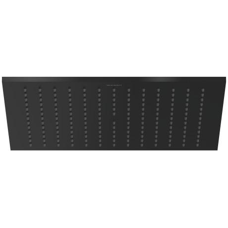 Deszczownica kwadratowa Duravit 30x30cm czarny mat UV0660028046