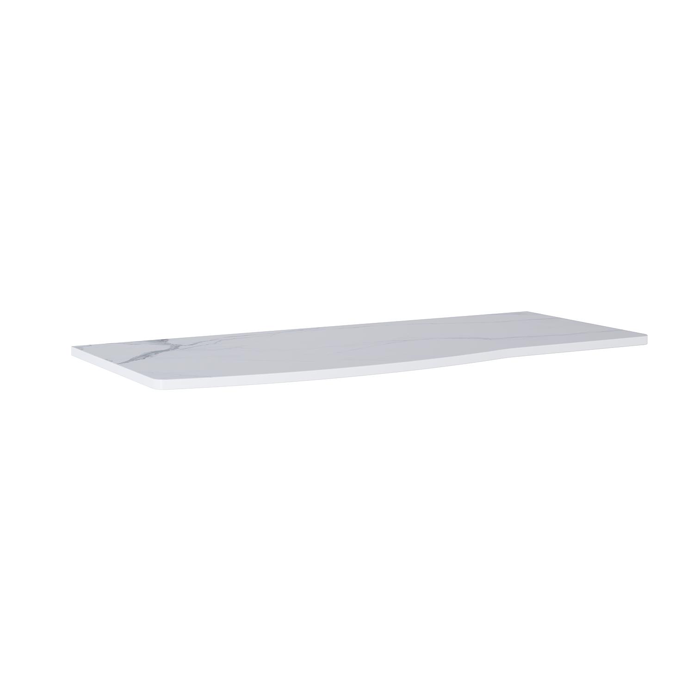 Blat Marmur Elita Calacatta Rolly 121x49,8x2 cm white mat 167799