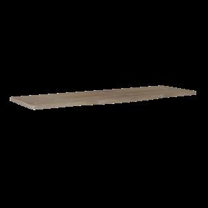 Blat pełny Elita Rolly 161x49,8x2,8 cm dąb classic PCV 167803