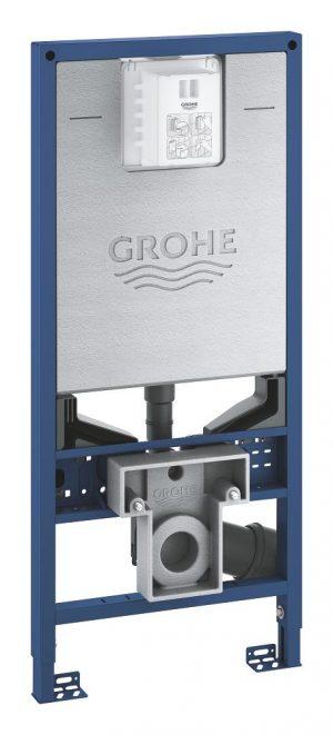 Grohe Rapid SLX Stelaż podtynkowy, wysokość 1.13 m, ze zintegrowanym przyłączem do toalety myjącej 39596000