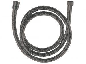Wąż natryskowy rozciągliwy 1500-1800 mm Laveo Arno grafit CRA_14PD