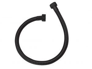 Wąż podłączeniowy 700 mm Laveo Arno czarny CRA_7PTD