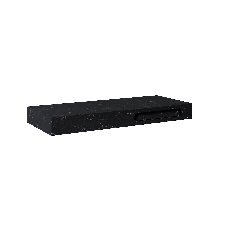 Konsola marmur Elita Marquina (120x46) GR.120 black mat 167489