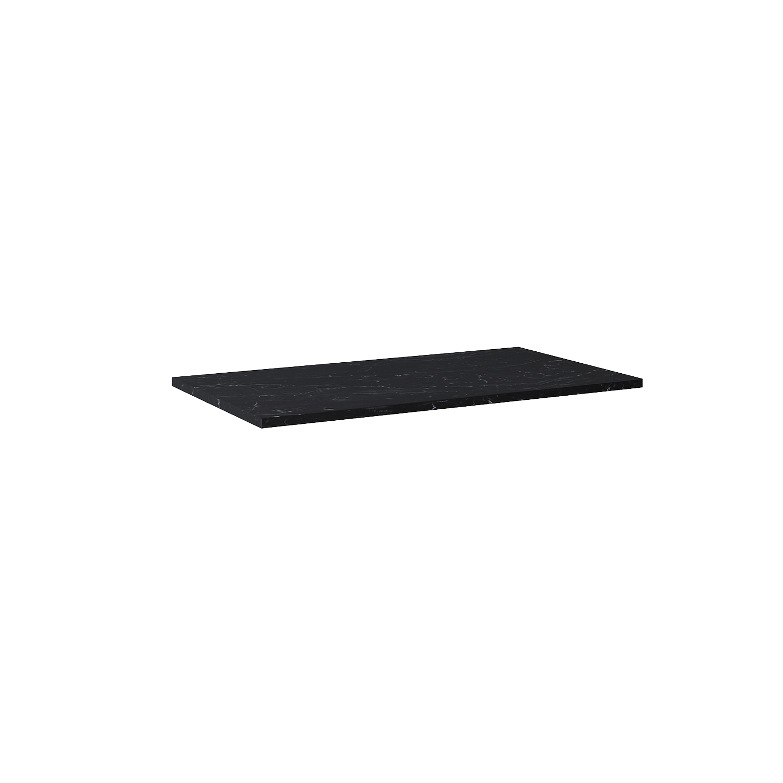 Blat marmur Elita Marquina 90x49,4x2 cm black mat 167476