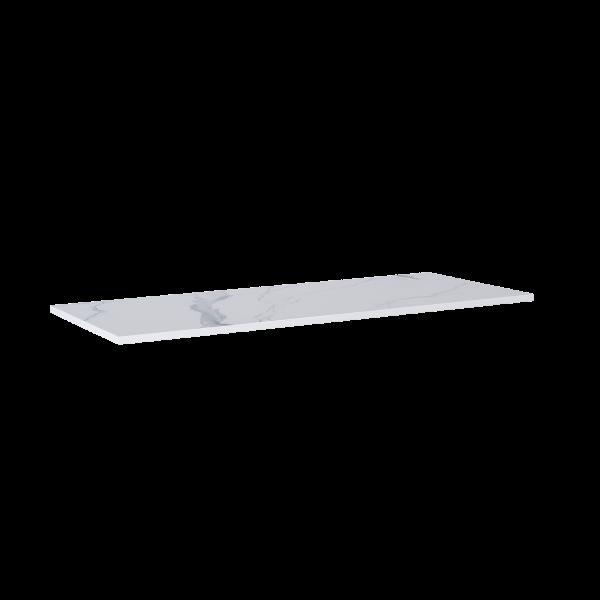 Zdjęcie Blat Marmur Elita Calacatta 140(70+70)x49,4×2 cm white mat 167806