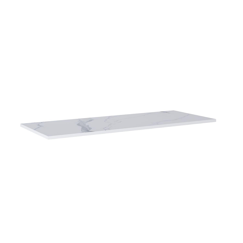 Blat Marmur Elita Calacatta 140(70+70)x49,4x2 cm white mat 167806