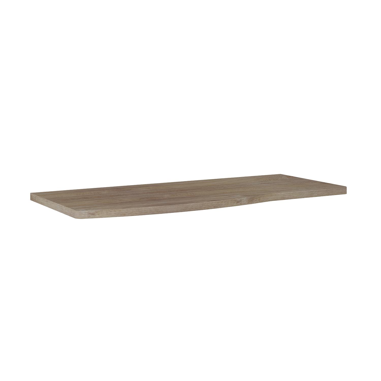 Blat pełny Elita Rolly 121x49,8x2,8 cm dąb classic PCV 167802