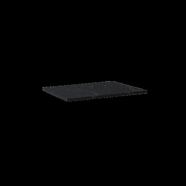 Zdjęcie Blat Marmur Elita Marquina 70×49,4×2 cm black mat 167807