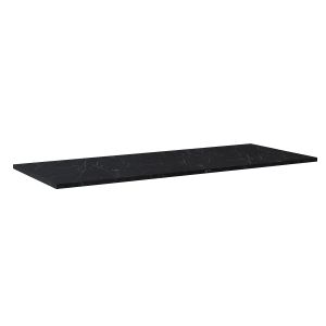 Blat Marmur Elita Marquina 140(70+70)x49,4x2 cm black mat 167809