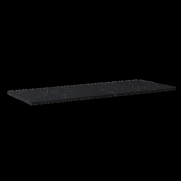 Zdjęcie Blat Marmur Elita Marquina 140(70+70)x49,4×2 cm black mat 167809