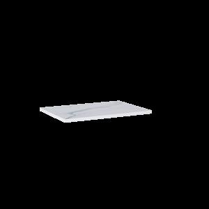 Blat marmur Elita Calacatta 60x46x2 cm white mat 167400