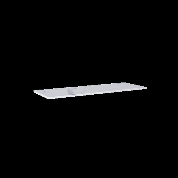Zdjęcie Blat marmur Elita Calacatta 140x46x2 cm white mat 167404