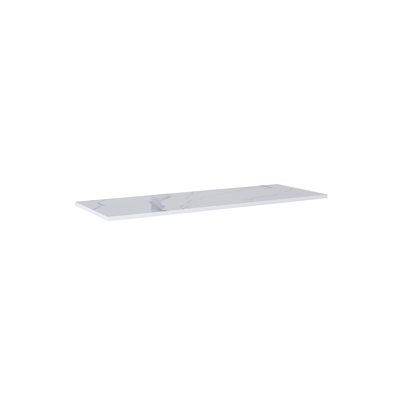 Blat marmur Elita Calacatta 140x46x2 cm white mat 167404