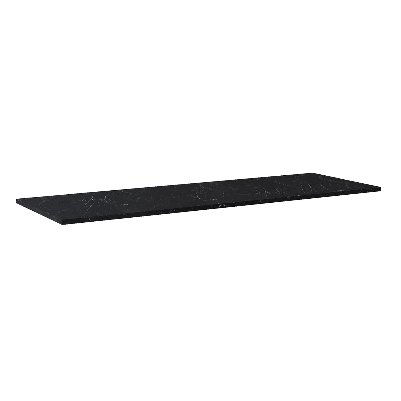 Blat marmur Elita Marquina 190x49,4x2 cm black mat 167479