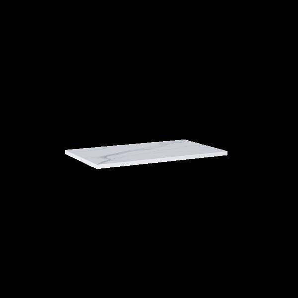 Zdjęcie Blat marmur Elita Calacatta 80x46x2 cm white mat 167401