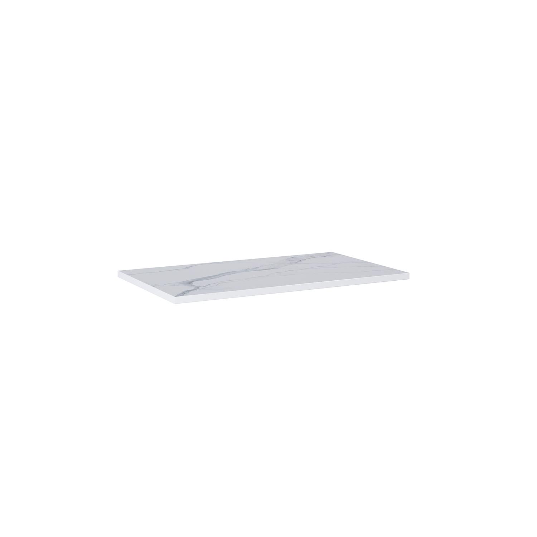 Blat marmur Elita Calacatta 80x46x2 cm white mat 167401