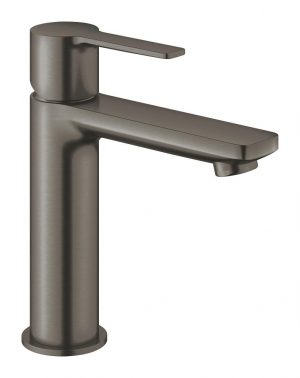 Grohe Lineare Bateria umywalkowa DN 15 rozmiar S brushed hard graphite 23106AL1