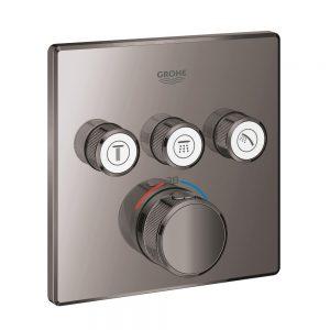 Grohe Grohtherm SmartControl Bateria termostatyczna do obsługi trzech wyjść wody hard graphite 29126A00