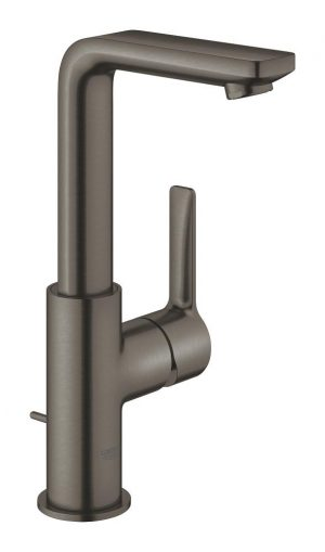 Grohe Lineare Bateria umywalkowa DN 15 rozmiar L brushed hard graphite 23296AL1