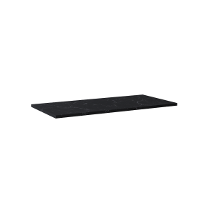 Blat marmur Elita Marquina 100x46x2 cm black mat 167482