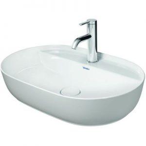 Umywalka nablatowa Duravit Luv 60x40 cm owalna biała 0380600000