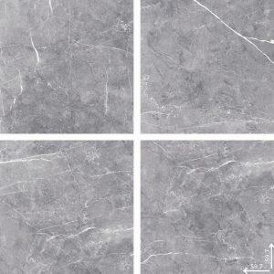 Płytka podłogowa Ceramica Limone Etnos Grey poler 59,7x59,7 cm